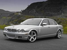 Jaguar XJ  Timeless elegance and grace. Under the hood of this one, massive amounts of power and a chassis with finesse