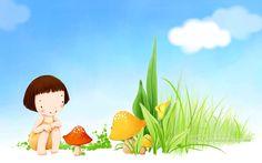 illustrator korean children - Google 검색