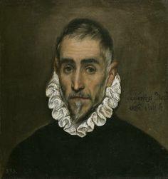 El Greco Caballero anciano 1587 - 1600 Museo del Prado