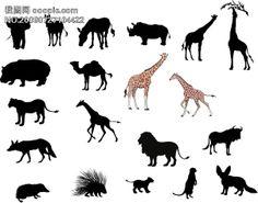 动物剪影的搜索结果_百度图片搜索 Moose Art, Silhouette, Animals, Animales, Animaux, Silhouettes, Animal, Animais