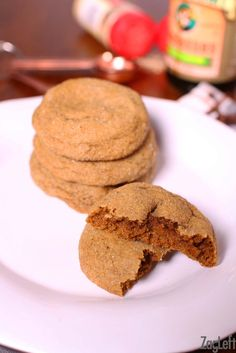 ... soft and chewy Gingersnaps, this small batch recipe is perfect