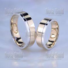 8a1ef750b548 Классическое гладкое обручальное кольцо из двух оттенков золота красного и  белого (Вес пары  14