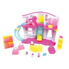 Shopkins Boutique Playset This is not just the Hottest Christmas Toys but one of the cutest. Shopkins live in a big shopping world. They are just the cutest collectible characters.