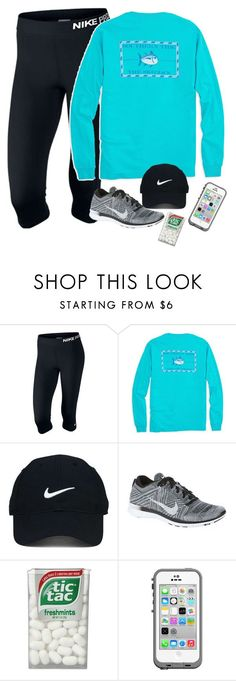 """""""weird set up but i like these shoes!!!!!"""" by lydiamorrison ❤ liked on Polyvore featuring NIKE, Southern Tide, Nike Golf and LifeProof"""