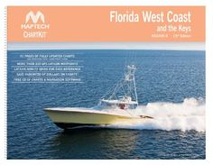 Florida West Coast and the Keys Chart Book - Maptech ChartKit® Book w/Companion CD
