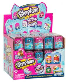 Up for SALE & READY TO SHIP - BRAND NEW & SEALED IN ORIGINAL PACKAGING: Shopkins World Vacation Season 8: Final Destination The Americas Mini