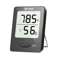 Habor Digital Hygrometer Indoor Thermometer Humidity Gauge Indicator Room Thermometer Accurate Temperature Humidity Monitor Meter for Home Office Greenhouse Mini Hygrometer X Inch) Wall Hanging Designs, Indoor Greenhouse, Humidity Sensor, Temperature Measurement, Temperature And Humidity, Gauges, Bluetooth Speakers
