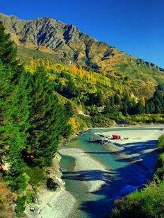 Shotover river, New Zeland