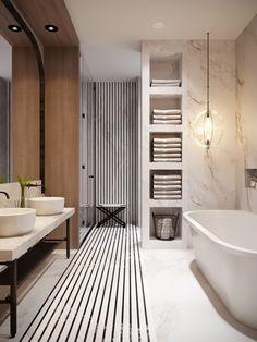 29 trendy bathroom design natural home White Bathroom Decor, Modern Bathroom Design, Bathroom Interior Design, Bathroom Designs, Bathroom Ideas, Turquoise Bathroom, Bathroom Inspo, Bathroom Remodeling, Kitchen Interior