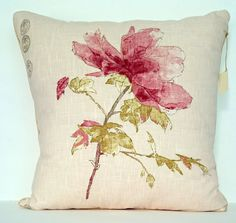 "BLUEBELLGRAY JAMES SUMMER SQUARE PILLOW CUSHION COVER 16/""x16/"", 40cmx40cm"