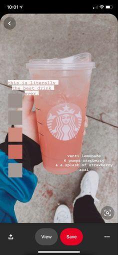 Starbucks Specialty Drinks, Bebidas Do Starbucks, Healthy Starbucks Drinks, Starbucks Secret Menu Drinks, Starbucks Coffee, Starbucks Diys, How To Order Starbucks, Coffee Drink Recipes, Coffee Drinks