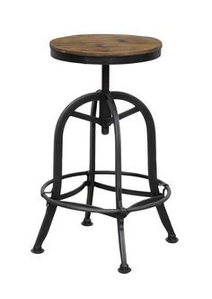 Akron Round Barstool - Barstools & Counter Stools - Seating - Furniture - Products | Classic Home