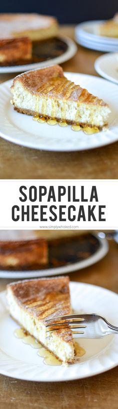 Sopapilla Cheesecake | simplywhisked.com