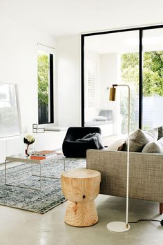 Modern Living Rooms: Ideas that will inspire a makeover. Styling by Joseph Gardner. Photography by Prue Ruscoe.
