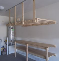 Great To Clean Your Garage, You Need Do The DIY Garage Storage. It Includes  Maximizing The Wall, Making Ceiling Storage, And Hanging Everthing On The  Wall.