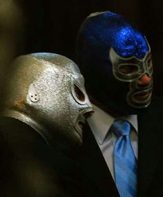 EL SANTO Y BLUE DEMON