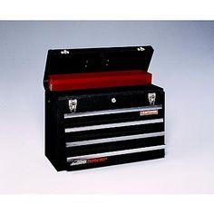 craftsman drawer metal portable chest black wrinkle