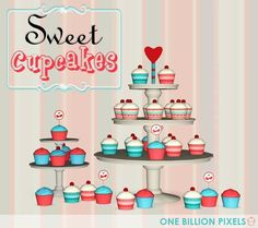 'For the Love of Cupcakes'  for real!! :)     So here's my own cupcakes. I made them by myself. Hope you like it.   For now they are j...