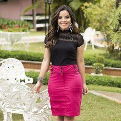 {Oie amores! Look de Hoje: Total @monia_modas} www.monia.com.br