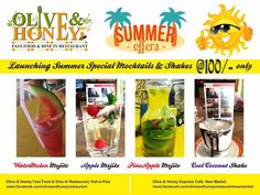 Olive & Honey Summer Offers available at both Koh-e-Fiza & New Market Outlets