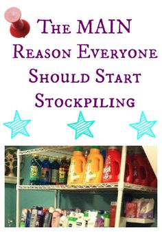 Have you started stockpiling yet? Here's a really good reason why today is the day to begin.