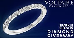 """""""Add A Little Sparkle"""" Diamond Giveaway 7 Days Perfect Engagement Ring, Engagement Rings, Diamond Are A Girls Best Friend, Free Contests, Wedding Bands, Giveaway, Jewelery, Sparkle, Bling"""