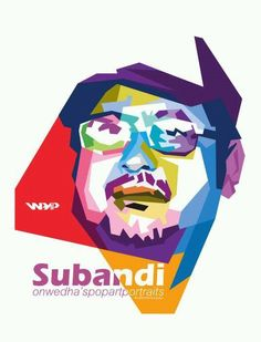 Wedha's Pop Art Portrait ~ Hanya ada satu safembrik