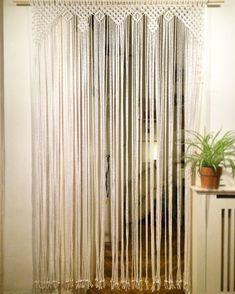 Macrame Curtain Custom made