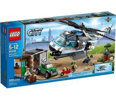 Lego City Helikopter bewaking 60046  http://www.planethappy.nl/lego-city-helikopter-bewaking-60046.html