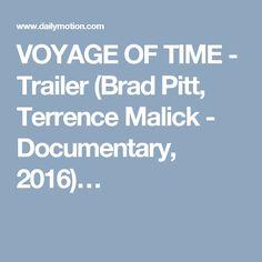 VOYAGE OF TIME - Trailer (Brad Pitt, Terrence Malick - Documentary, 2016)…
