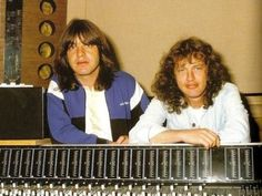 Malcolm and Angus Young