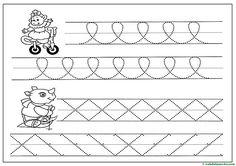 Grafomotricidad para Educación Infantil - Web del maestro Feliz Halloween, Alphabet Tracing Worksheets, 4 Kids, Activities, Blog, Fine Motor, Halloween Coloring, Note Cards, Kids