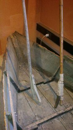 Il barchino dei perscatori del Padule alla Diaccia Botrona a Castiglione della Pescaia