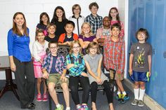 Fifth-graders at Keith School did a service project to benefit the Mission.