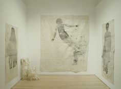 "by kiki smith, ""sojourn"", brooklyn museum 2010. she's genius."