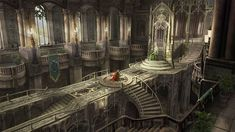 Art School, Scenery, Fantasy, Wattpad, Painting, Concept, Image, Thoughts, Landscape
