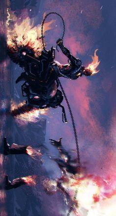 Ghost Rider by ömer Tunç.