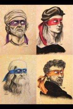 Las Tortugas Ninja y sus antecedentes.