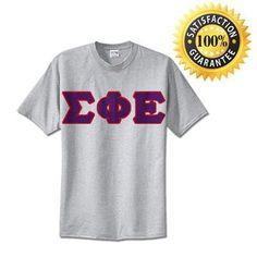 Sigma Phi Epsilon Standards T-Shirt - $14.99 Gildan 5000 - TWILL