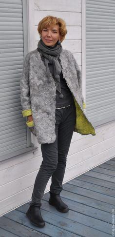 """Купить валяный жакет """" Japanese style"""" - жакет, валяный жакет, пиджак, Мокрое…"""