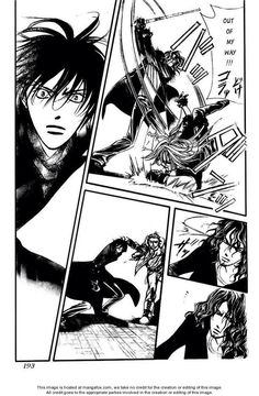 Cain (Ren) wasn't happy that his girl (Setsu aka Kyouko) is thrown to the ground
