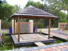 #thatch #roofing #travel #home #decor Gazebo, Pergola, Outdoor Structures, Travel, Home, Products, Decor, Kiosk, Viajes