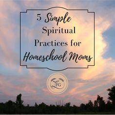 Need some encouragement for how to grow spiritually in the midst of your busy homeschool life this year?  Check out this article, plus enter the GIVEAWAY for a Sacred Ordinary Days Liturgical Planner!