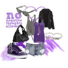 no negative thoughts allowed, created by michelle21as