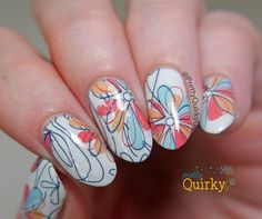 More incredibly cute flower water decals from the Born Pretty Store. Love this…