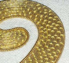 Goldwork: Metal Threads Up Close – Gold Passing – Needle'nThread.com
