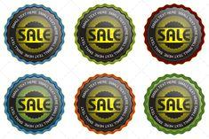 6 Vector Seals set 2