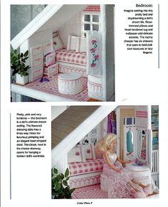 Fashion Doll House in Plastic Canvas Pattern by grammysyarngarden
