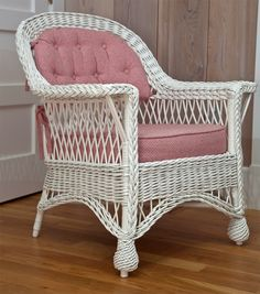 Antique Bar Harbor Wicker Chair   From a unique collection of antique and modern garden furniture at https://www.1stdibs.com/furniture/building-garden/garden-furniture/