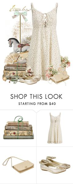 """""""Timeless"""" by majezy ❤ liked on Polyvore featuring Shabby Chic, Ralph Lauren, Chanel, Monsoon, Aurélie Bidermann and vintage"""